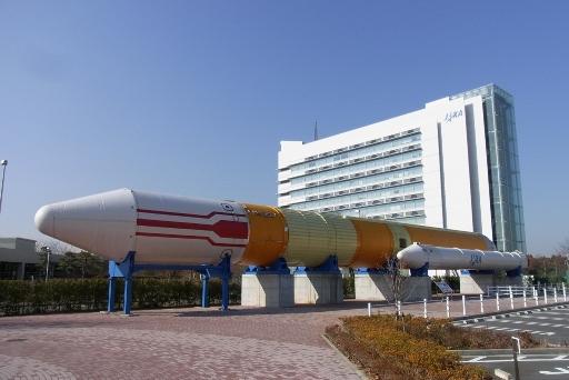 実物大のH-Ⅱロケット