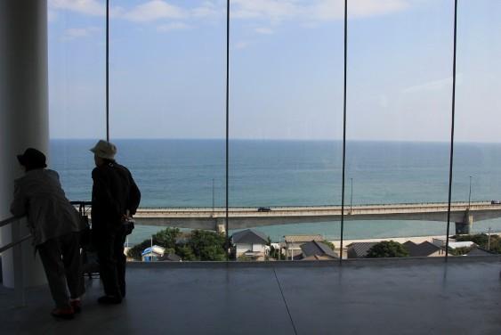 駅東口からの眺望