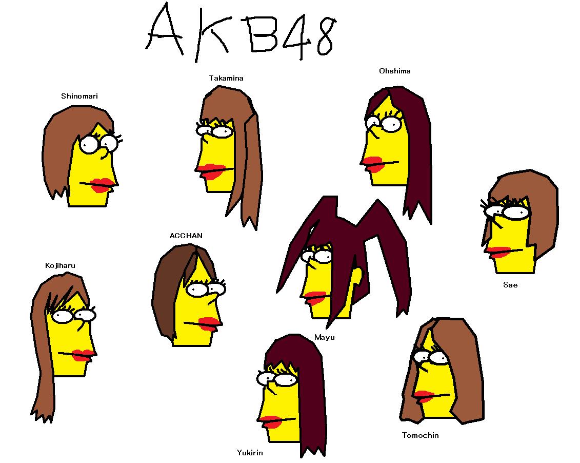 AKB48 イン・シンプソンズワールド