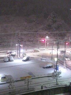雪景色 夜