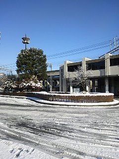 雪景色 昼