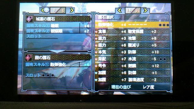 散弾強化4s3