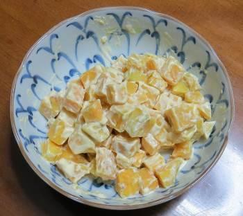 マヨ風味芋