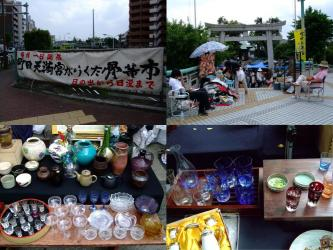 町田天満宮骨董市~毎月1日定期開催中~2012.06.01