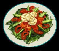 コラボホットサラダ