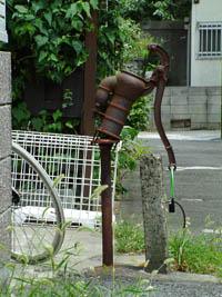 東京都品川区 法禅寺近所の井戸②2012_0804