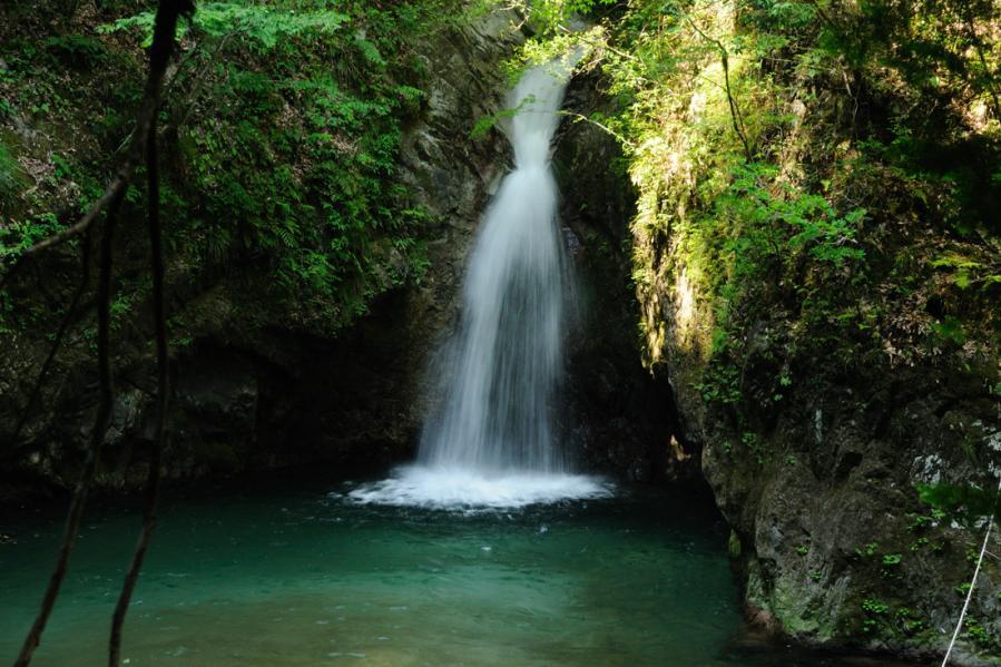 竜王権現の滝