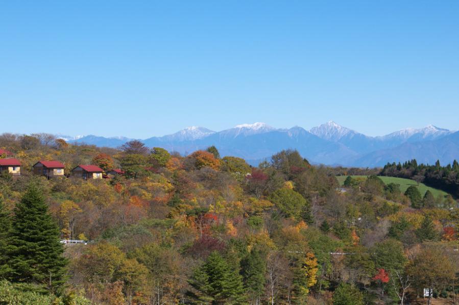 茶臼山高原からの眺望
