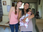 デサと赤ちゃん