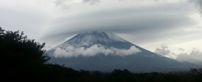 富士と雲②
