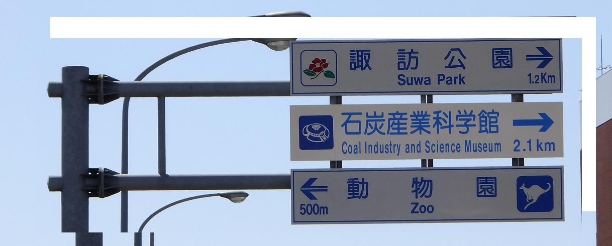 導かれた標識