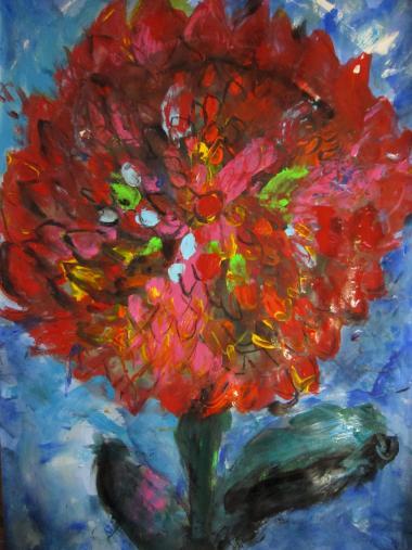 アカ、アカ、アカダ、赤い花