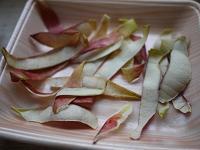 干しりんごの皮