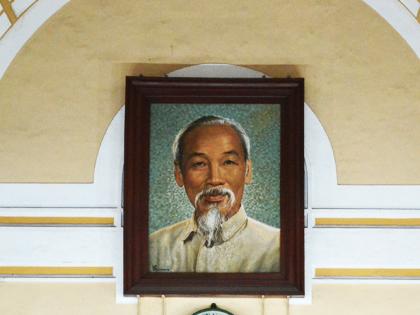 ホーチミン氏肖像画