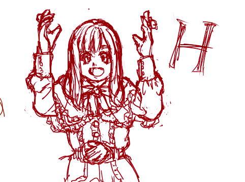 「HOPE」のH
