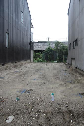 中川の家 杭芯