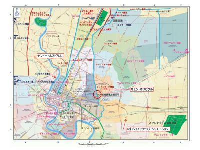 バンコク洪水マップ 2011年10月27日