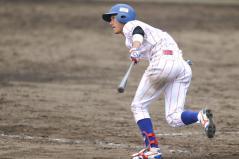 11回裏岩井選手センター前サヨナラタイムリー