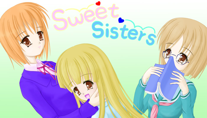 Webコミック『Sweet Sisters』タイトル