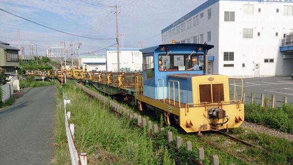 浜松レールセンター専用線(2014年9月15日)