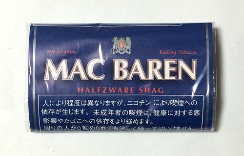MAC_BAREN_HALFZWARE マックバレン・ハーフスワレ MAC_BAREN マックバレン ハーフスワレ HALFZWARE 手巻きタバコ シャグ RYO SHAG