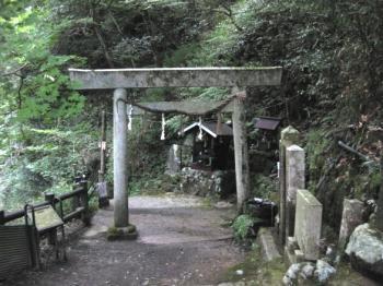 天岩戸への道