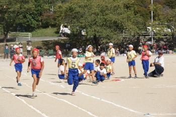 24年小学校運動会リレー