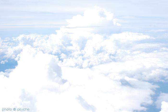 雲の向こう。。