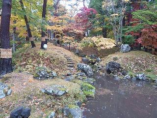 香雪園園亭からの景色