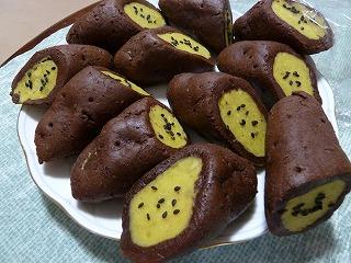 手作りサツマイモ菓子