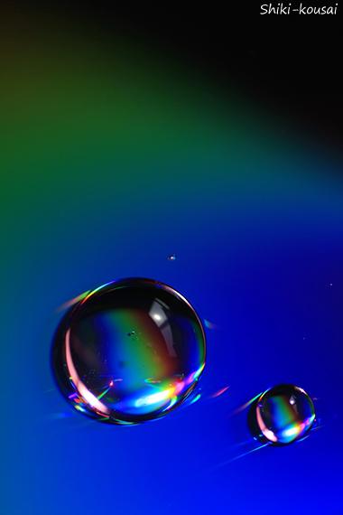光の水玉写真 【梅雨】