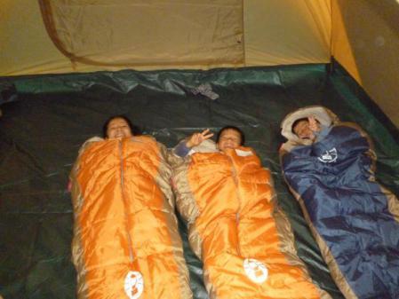 サバイバル・キャンプ 寝袋