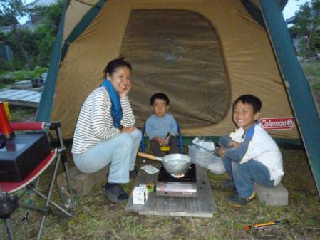 サバイバル・キャンプ 調理