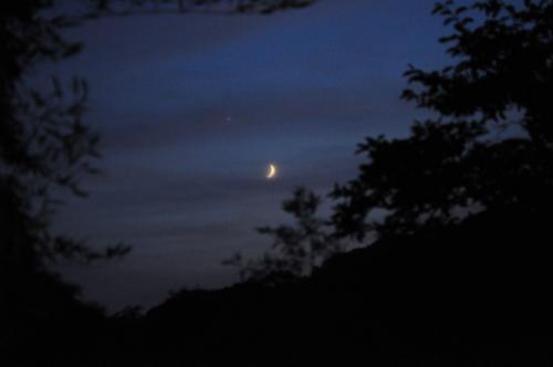 s朧月と宵の明星