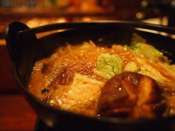 ホルモンすき鍋