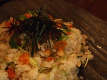 鮭といくらの混ぜご飯