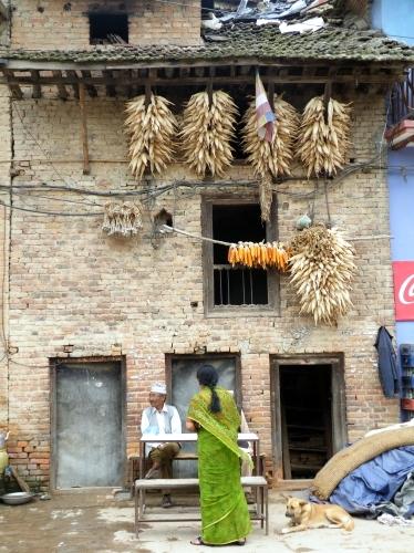 ネパール 田舎 ブングマティ