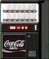 コカ・コーラゼロ用ガチャ