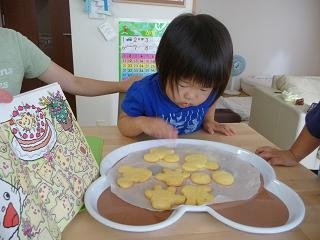 2010 08 14 クッキー作り tibi01