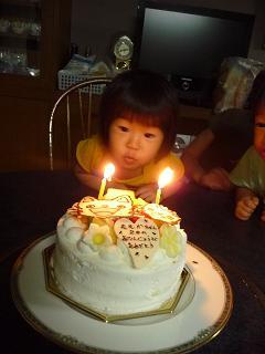 2010 08 29 モモ2歳お祝い tibi02