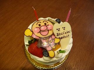 2010 11 27 ケーキでお祝い tibi01
