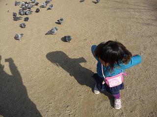 2011 01 16 パパと散歩 tibi01