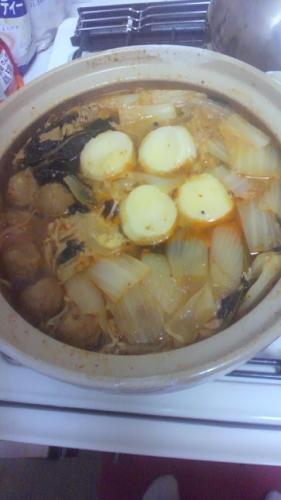 ★キムチ&坦々鍋★