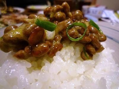 水戸納豆。
