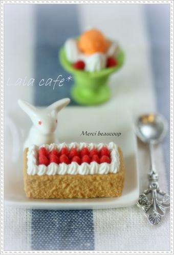 ミニチュアケーキ♪フォト