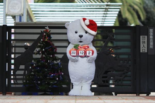 とべ動物園を応援する写真クラブのブログ-とべ動物園にクリスマスがたくさん