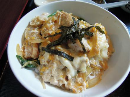 -博多 カツ丼セット 普通盛り (3)