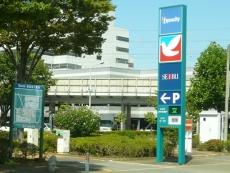 付近を東海道新幹線が通る