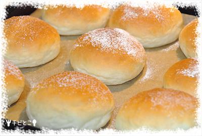 チビとこパン作り