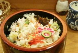 かにチラシ寿司